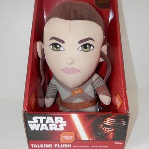 Star Wars Force Awakens Talking Plush Rey …